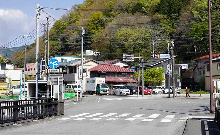 小山交番の交差点