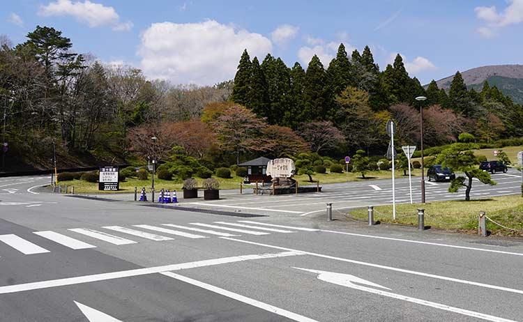富士霊園入口