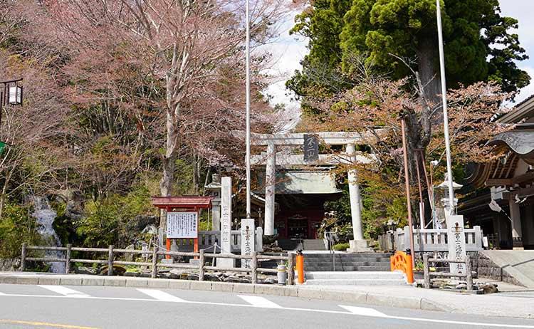 須走市街 冨士浅間神社