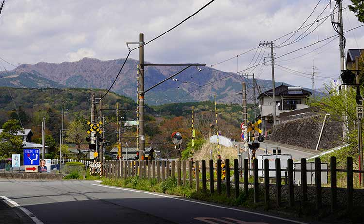 県道149号線踏切