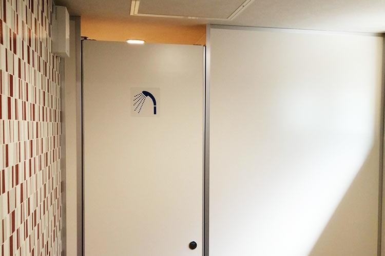 フジサイクルゲート シャワールーム